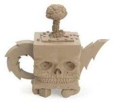 Richard Notkin Teapot.  Richard never fails to please our senses... bravo