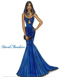David Mandeiro Fashion Illustration