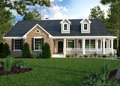 Ranch House Plans With Simple Roof Lines Home Act Intended For Diy
