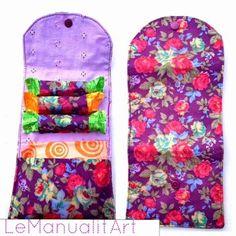 neceser de bolso de mujer  para tampones y compresas