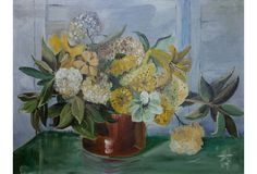 One Kings Lane - A West Coast Vibe - Floral Still Life by Ken Harvey