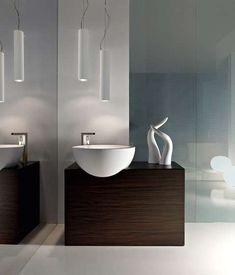 Illuminare un bagno cieco - Lampade dal design moderno
