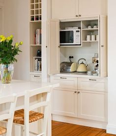 Uplifting Kitchen Remodeling Choosing Your New Kitchen Cabinets Ideas. Delightful Kitchen Remodeling Choosing Your New Kitchen Cabinets Ideas. New Kitchen Cabinets, Kitchen Redo, Kitchen Appliances, Kitchen Pantry, Small Appliances, Kitchen Counters, Pantry Cupboard, Corner Cabinet Kitchen, Kitchen Armoire