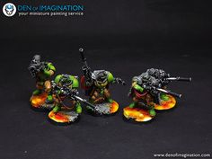 Space Marines Salamanders | Den of Imagination | Flickr
