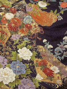 Furisode #250321 Kimono Flea Market Ichiroya