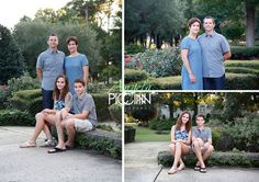 Landfall Temple Garden Summer Family Photos - Photography by Angela Piccinin - Wilmington NC Wedding and Family Portrait Photographer