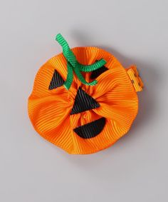 Do --- Take a look at this Orange Jack-o'-Lantern Clip on zulily today!