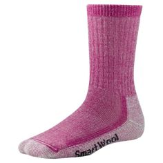 SmartWool Women's Hike Medium Crew Socks, Peony