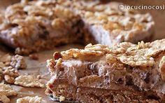 Ricetta Cheesecake croccante al cioccolato e cereali