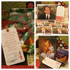 12 days of Christmas for missionaries. The whole blog is full of cute stuff to send through out the year.