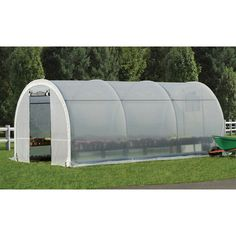 ShelterLogic GrowIT Organic Growers Pro RoundTop Greenhouse — 10ft.W x 19ft.8in.L x 8ft.H, Model# 70576 | Green Houses| Northern Tool + Equipment