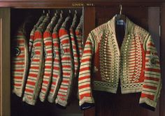 British uniforms of the Household Livery.