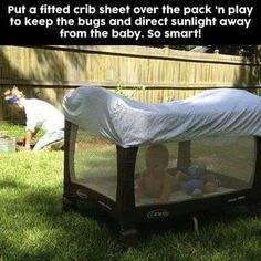 Good idea if baby is small & don't rip it off #pregnancyhacks