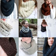Save 70% on the top 10 Cowl Knitting Patterns!