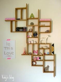 KAPLA Wall Shelves