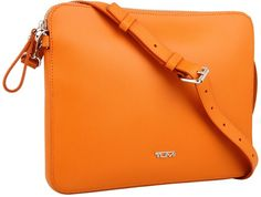 $195, Orange Crossbody Bag: Tumi Mobile Accessory Slim Zip Top Crossbody. Sold by Zappos. Click for more info: http://lookastic.com/women/shop_items/4034/redirect