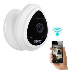 Security Mini IP Camera, UOKOO 1280x720p Home Surveillance Camera Wireless IP Camera With Built In Microphone WiFi Security Camera, Baby Video Monitor Nanny Cam,Motion Detection - http://www.amazon4all.net/security-mini-ip-camera-uokoo-1280x720p-home-surveillance-camera-wireless-ip-camera-with-built-in-microphone-wifi-security-camera-baby-video-monitor-nanny-cammotion-detection/