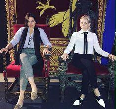 ''As rainhas das trevas chegaram para a festa'' (Via @acesshollywood)
