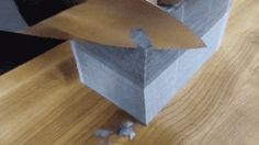 If that impressed you, what if we doubled the stack? WOW.   12 Extremely Satisfying GIFs Of Things Being Cut By Knives