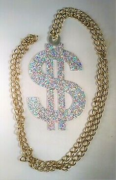 Fancy Dress Rapper Pimp Gold Chain Rings Bracelet Bling Boom Box Bandana Hip Hop