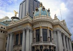 Teatro Municipal Louvre, Building, Life, Brazil, Pictures, Buildings, Construction, Architectural Engineering