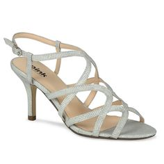 005e0f08ca24 Rich By Pink http   www.bellissimabridalshoes.com trends strappy · Wedding Shoes  HeelsSatin ...