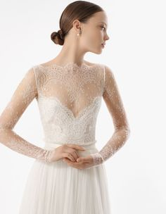 Designer Loft introduces Rosa Clara Soft Collection + A Giveaway!  Read more - https://www.stylemepretty.com/new-york-weddings/long-island/the-hamptons/2013/09/24/designer-loft-introduces-rosa-clara-soft-collection-a-giveaway/