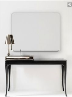 Bisazza Organico Series with chrome basin and lamp. Designed by Jamie Hayon.