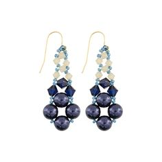 Understated Elegance Woven Earrings  | Auntie's Beads
