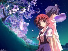 Okazaki and Nagisa | Clannad