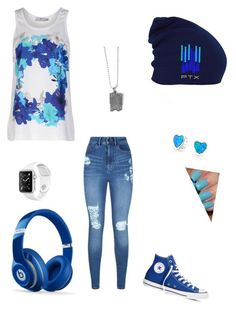 """Pentatonix"" by elizabethcarter2003 ❤ liked on Polyvore featuring adidas, Bling Jewelry, Lipsy, Converse and Beats by Dr. Dre"