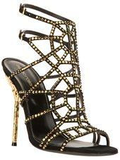 Sergio Rossi - studded stiletto sandal