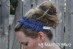 cute headband to try to make