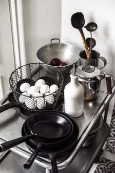 Industrial style kitchen details | Photo by Stella Harasek | www.stellaharasek.com