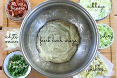 Hungry Harps: Irish Potato Salad Clean Eating Recipes, Cooking Recipes, Great Recipes, Dinner Recipes, Warm Potato Salads, Irish Potatoes, Cabbage And Bacon, Irish Recipes, Vegetable Side Dishes