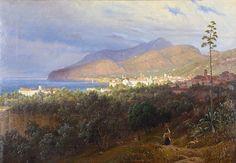 Thomas Fearnley (1802-1842): Fra Sorrento, 1840