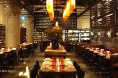 Michael Mina's award winning restaurant in San Francisco's Financial District.