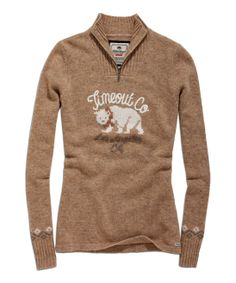 Cappuccino Wool-Blend Pullover Sweater | Daily deals for moms, babies and kids