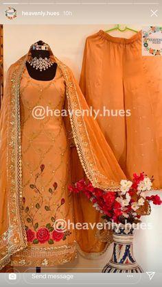 Punjabi Suits Party Wear, Party Wear Indian Dresses, Desi Wedding Dresses, Designer Party Wear Dresses, Pakistani Wedding Outfits, Party Wear Lehenga, Dress Indian Style, Bridal Outfits, Pakistani Dresses