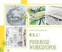 Élménybeszámolók - őszi Punkrose workshopok - punkrose.hu Dory, Techno, Pop Up, Scrapbook, Popup, Scrapbooking, Techno Music, Guest Books, Scrapbooks