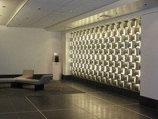 Studio by Wovin Wall (Bravern) Glass Bathroom Shelves, Office Dividers, Donor Wall, Acrylic Panels, Wall Installation, Acoustic Panels, Commercial Interiors, Textured Walls, Wall Tiles