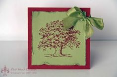 Stampin' UP! Lovely as a Tree