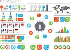Find Human Infographic Vector Illustration World Map stock images in HD and millions of other royalty-free stock photos, illustrations and vectors in the Shutterstock collection. Thousands of new, high-quality pictures added every day. Infographic Examples, Infographics, Pie Graph, Chart Design, Information Graphics, Data Visualization, Stock Market, How To Find Out, Stock Photos