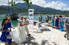 Sweet couple's wedding photos @seasidelefkada  #Lefkas #Ionian #Greece #wedding #weddingdestination Eikona Lefkada Stavraka Kritikos
