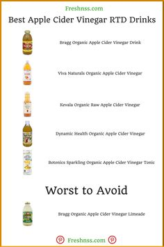28 Best Apple Cider Vinegar, Plus 4 to Avoid Buyers Guide) Apple Cider Vinegar Brands, Apple Vinegar, Organic Apple Cider Vinegar, Natural Cold Remedies, Cold Home Remedies, Cough Remedies, Sleep Remedies, Coconut Oil Weight Loss, Plus 4