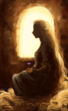 Rapunzel. Beautiful.
