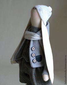 Игрушки животные, ручной работы. Ярмарка Мастеров - ручная работа Зайка William (Уильям)   (39 cм). Handmade.
