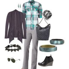 Out and About, created by mandevilla on Polyvore. don't like the shoes, though.