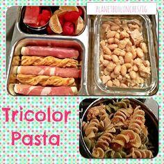 Best Tricolor Twist Pasta Recipe on Pinterest