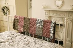 Summery Quilt adds interest to any room, even when not being used to cosy up in.